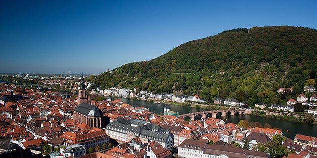 Image: view over Heidelberg
